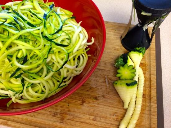 Zucchini Cores